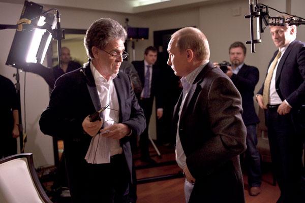 Kamerateam Moskau mit Putin
