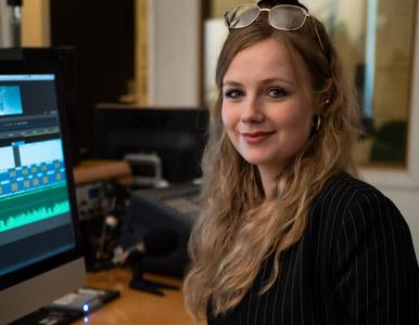 Natalie Projektmanagerin Multivision Filmproduktion Hamburg
